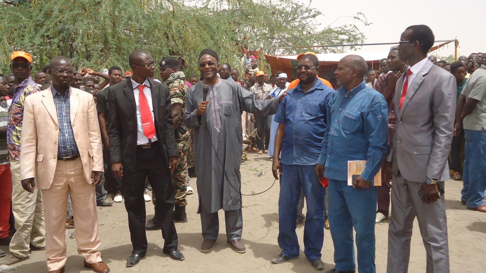Campagne électorale au Tchad: le leader de l'UNDR mobilise à Massaguet