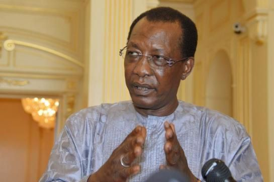 Idriss Deby: crédit photo (Reuters)