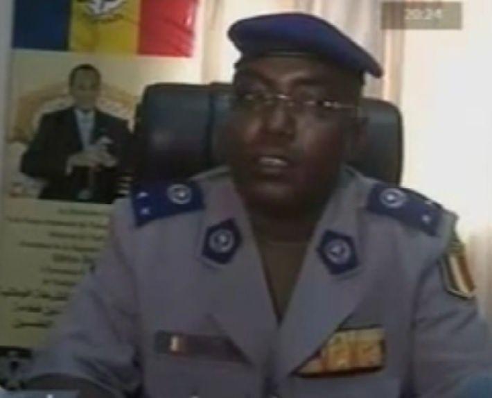 Taher Erda,directeur de la police nationale au Tchad.