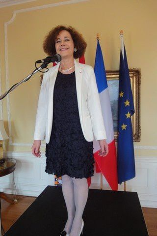 Mme Evelyne Decorps, ancienne-ambassadrice de France au Tchad