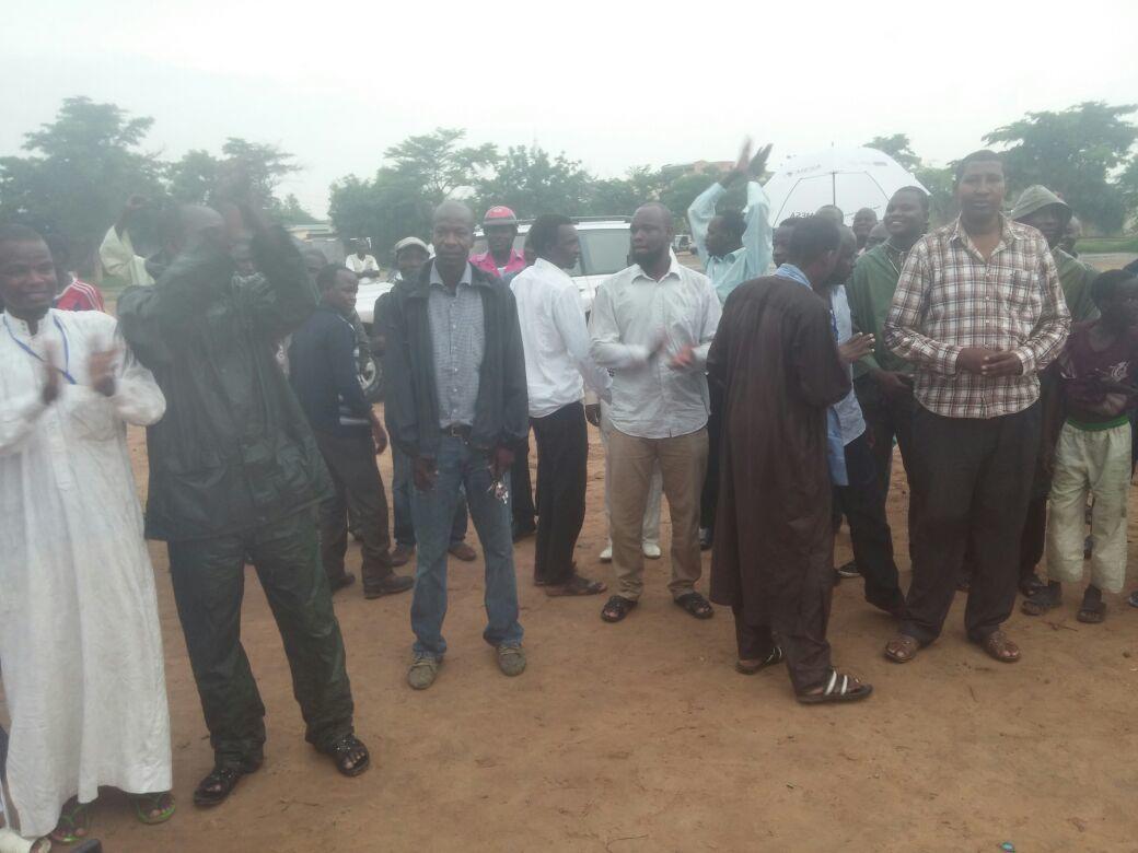 L'opposition a bravé la mesure d'interdiction (image de la journée du samedi)