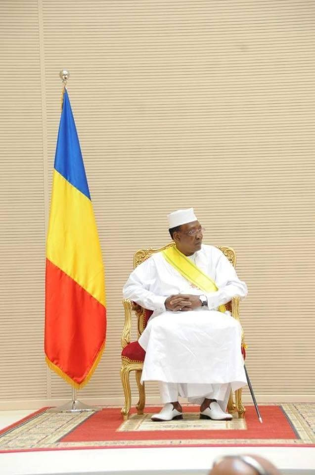 Investiture d'Idriss Deby