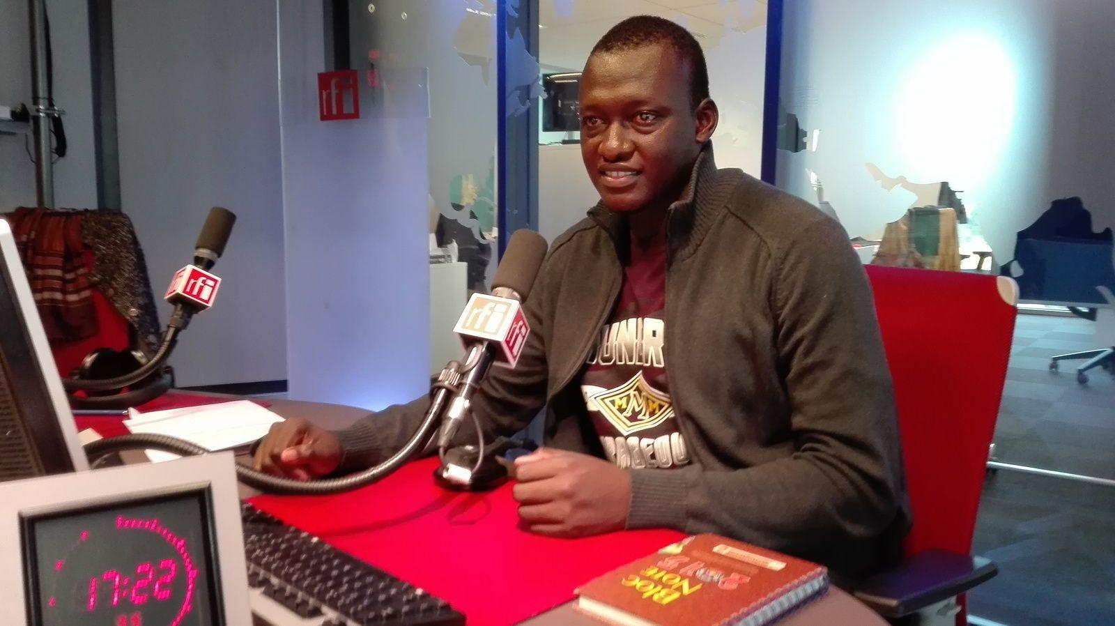 A Paris pour un plaidoyer sur le Tchad, Nadjo Kaina Palmer, coordonnateur de Iyina, invité de Florence Morice sur Rfi-Afrique-Soir