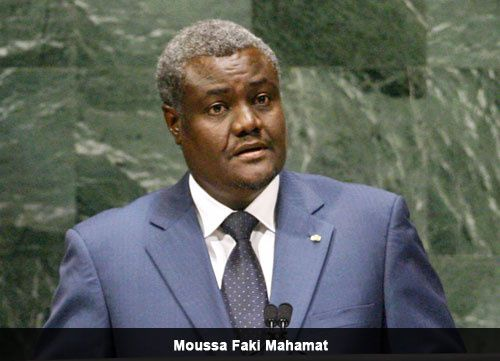 Moussa Faki Mahamat (crédit-photo DR)
