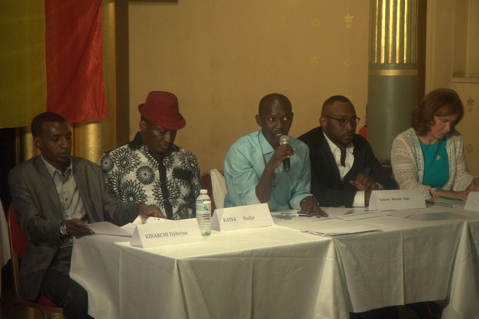 6 septembre 2017, Paris - Tchad : contre-sommet à la conférence des bailleurs