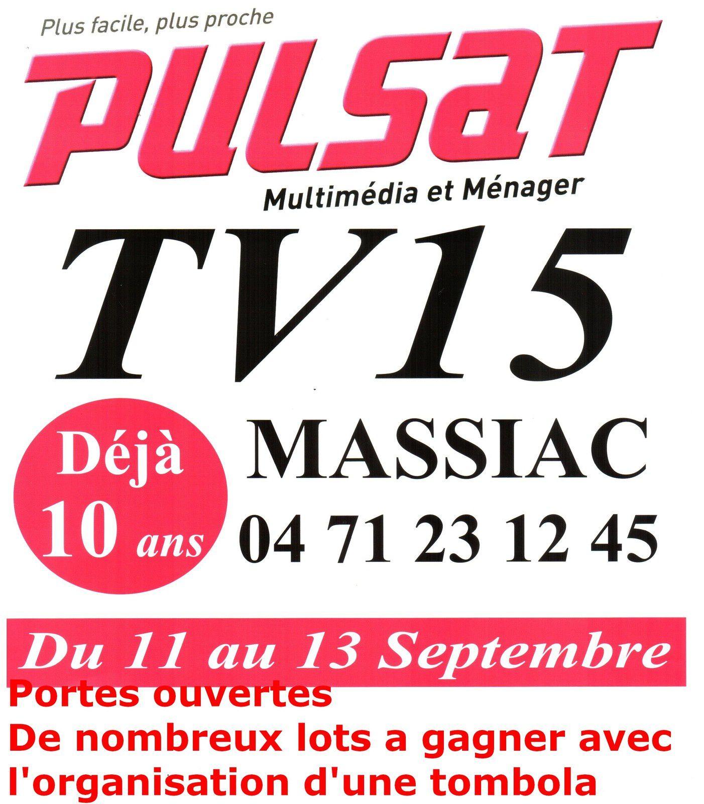 Massiac : Pulsat fête ses 10 ans