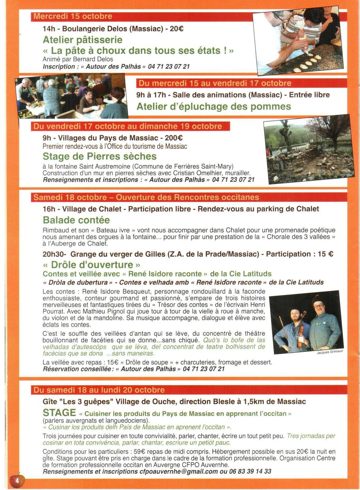 MASSIAC : La foire aux pommes 2014