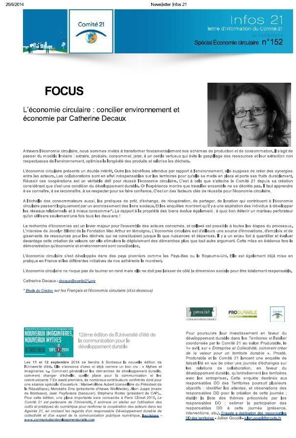 DD : réflexions sur la relation Collectivités et Entreprises