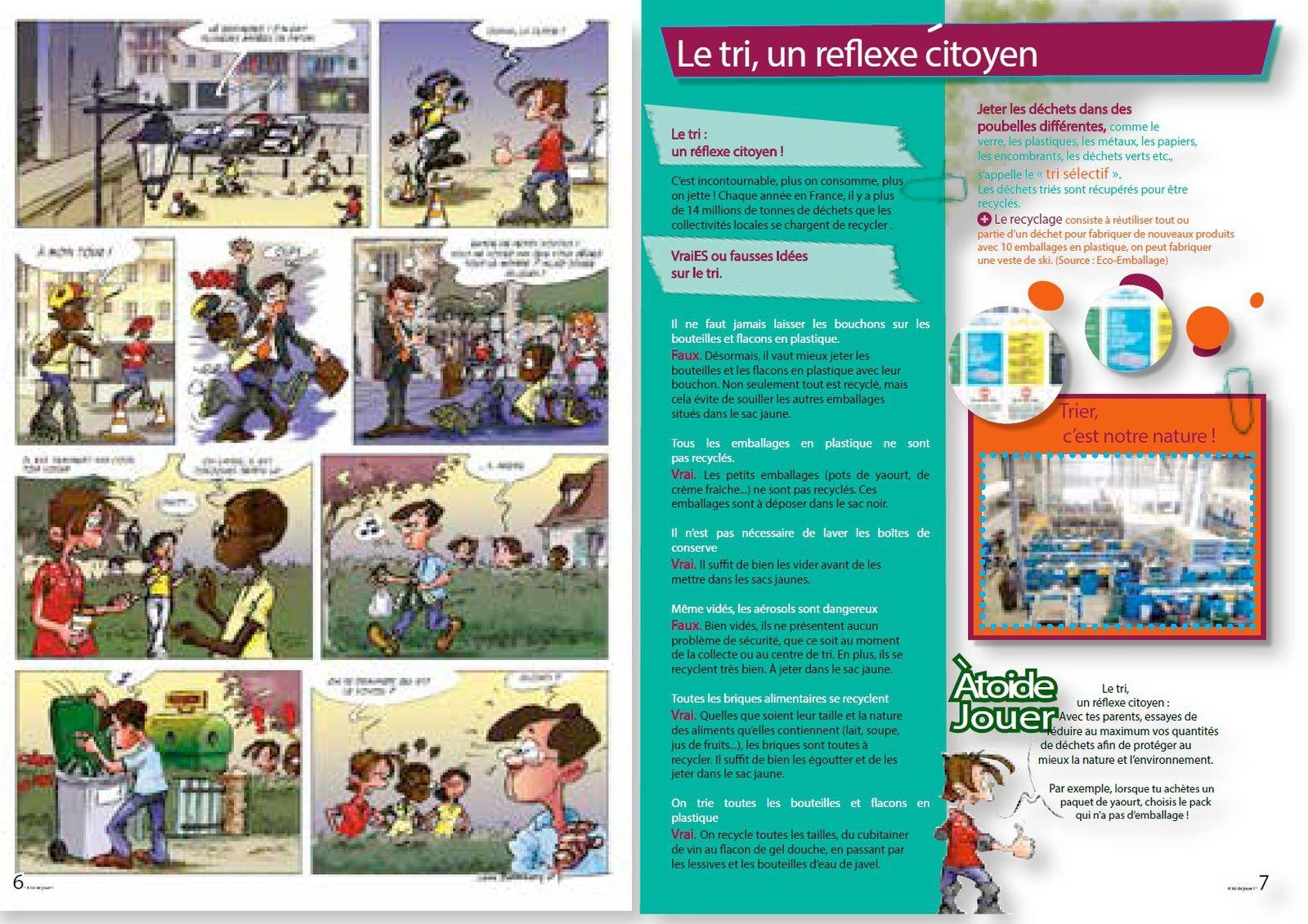 Exemple de double page intérieure
