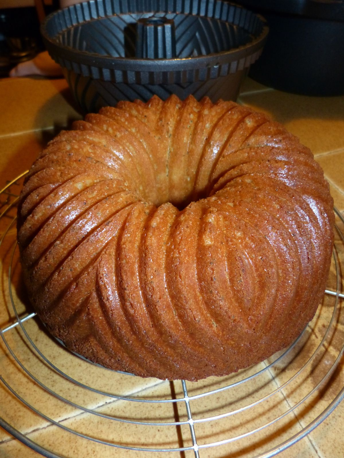Bundtcake citron pavot au buttermilk