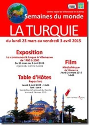 Du 23 mars au 3 avril, la Turquie fait son show à Villeneuve dans le cadre des semaines du monde