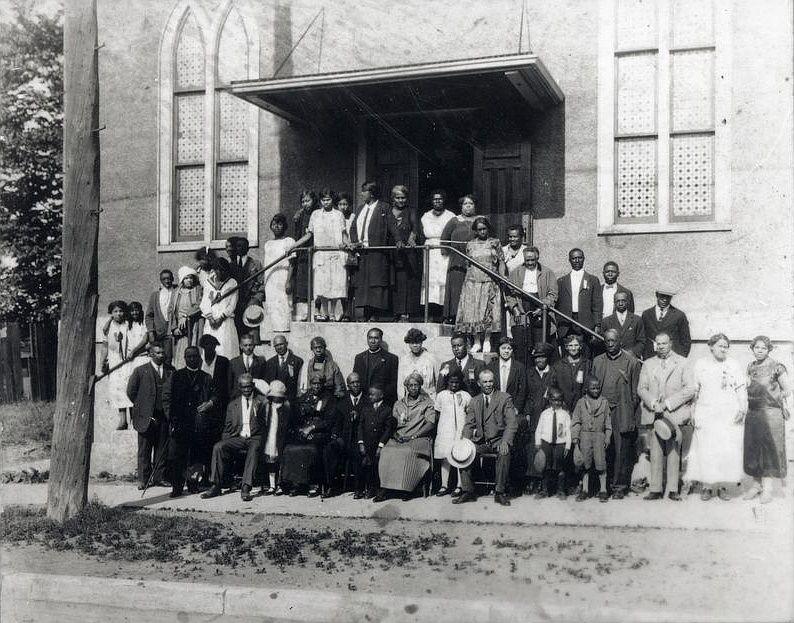 "La ""Salem Chapel"" à St.Catharines vers 1920"
