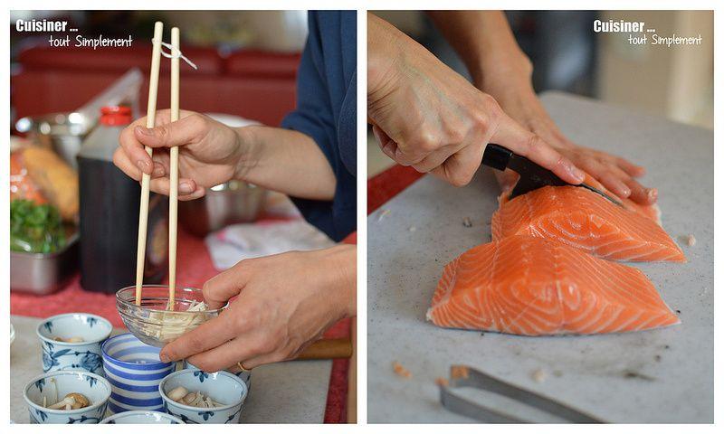 Bordeaux - Junko Sakurai nous fait découvrir la cuisine japonaise