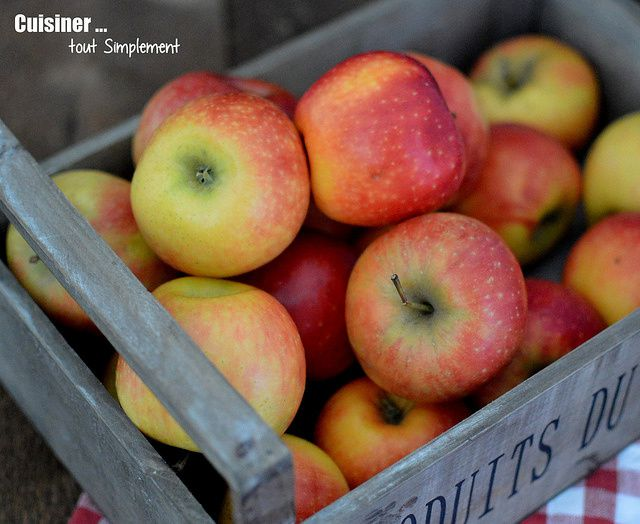 Gougères sucrées aux Pommes