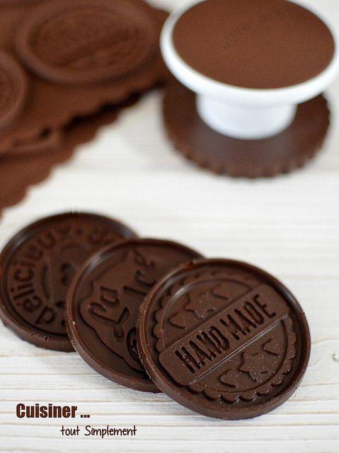 Sablés Vanille - Chocolat style &quot&#x3B;Petits écoliers&quot&#x3B;