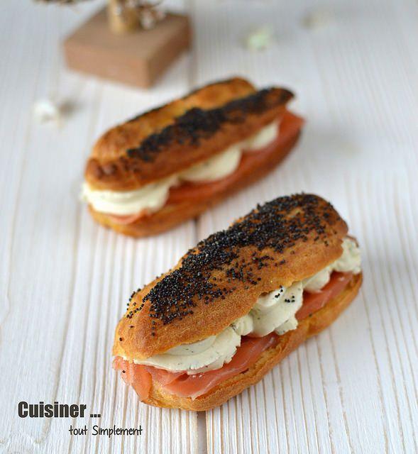 Eclairs au saumon fum et au fromage cuisiner tout simplement le blog de cuisine de nathalie - Remettre une fermeture eclair ...