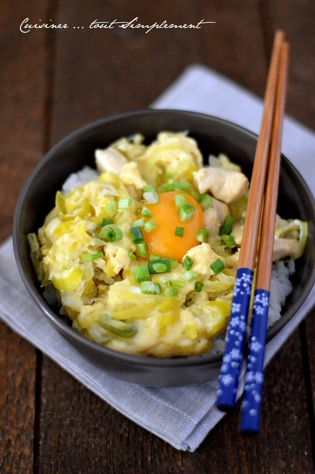 Cuisiner l'Oyako Donburi avec Junko
