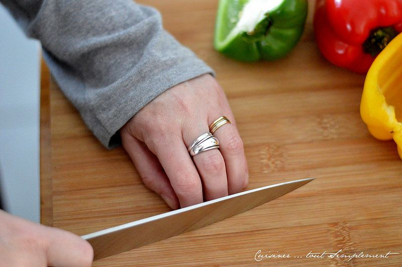 Comment utiliser un couteau de Chef ...