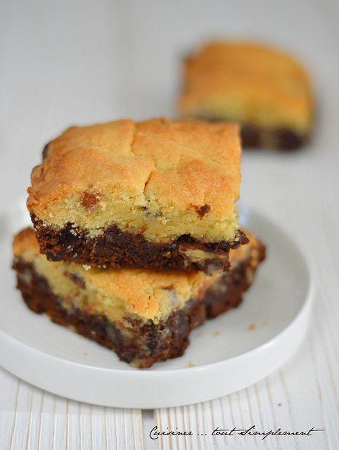 Brookie Chocolat - Caramel