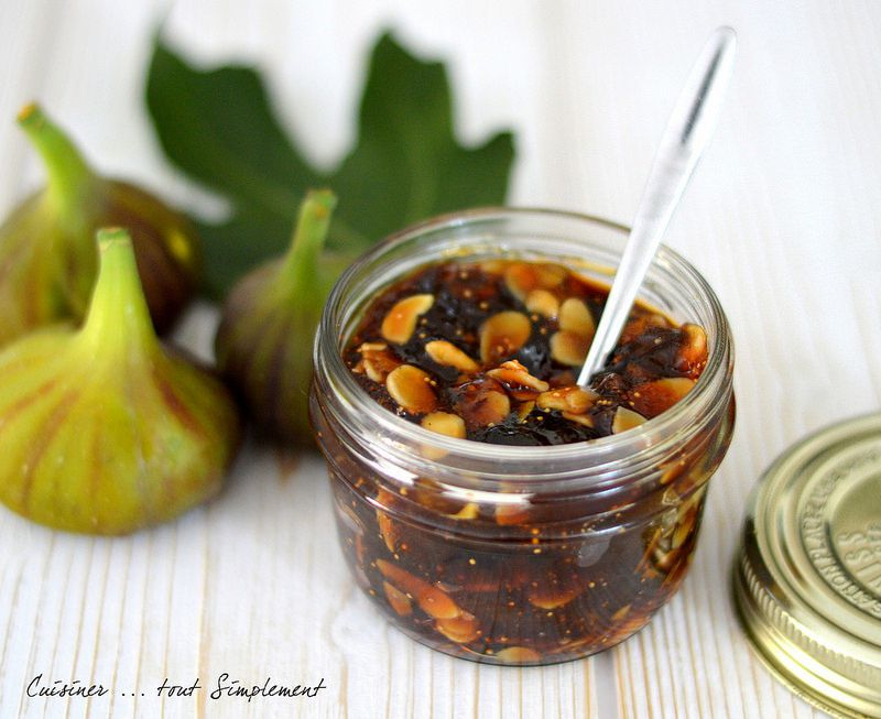 confiture de figues proportion sucre