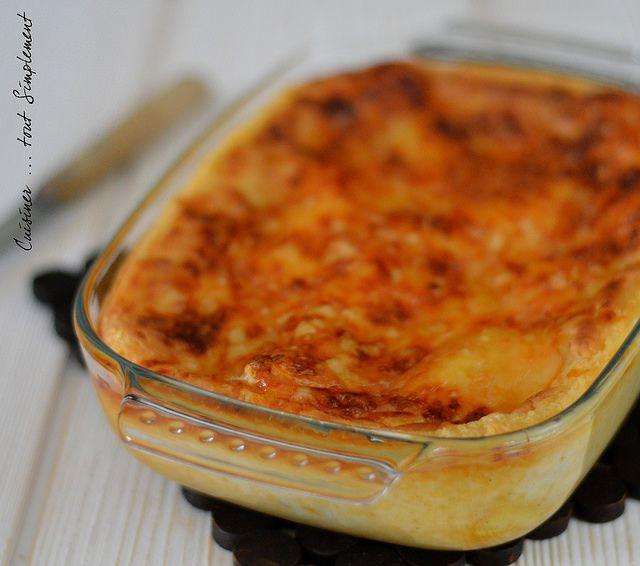 Lasagnes Cabillaud - Chorizo - Poireaux