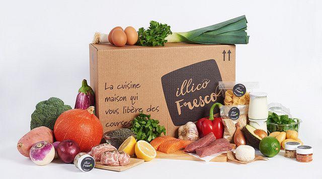 [Test] Illico Fresco : Paniers repas livrés à domicile