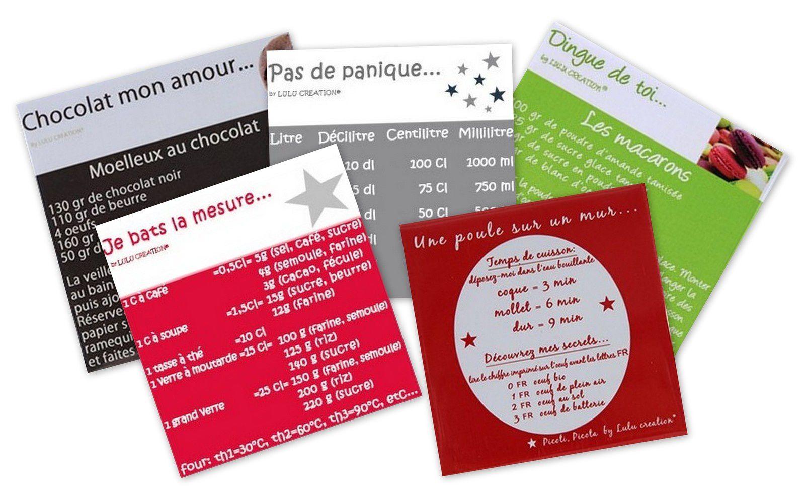 [Concours Inside] LuLu Création, Des Magnets qui font recette ...