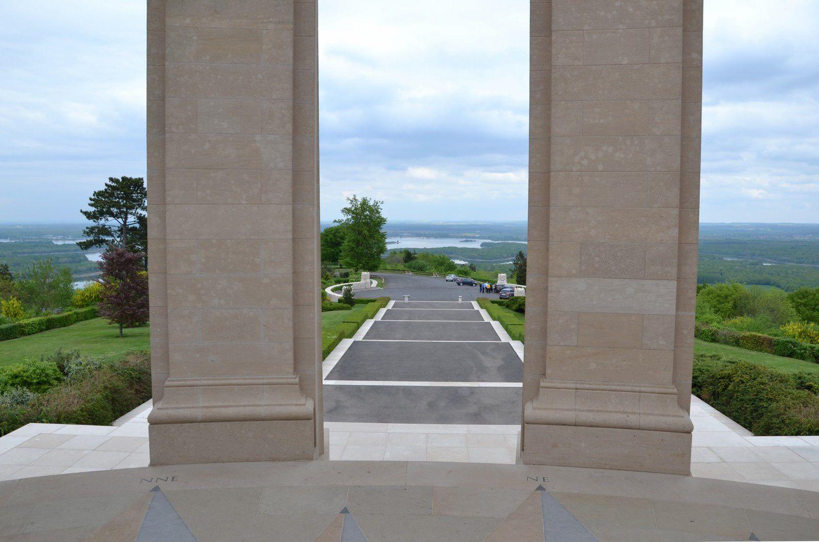 Le monument américain de la Butte de Montsec