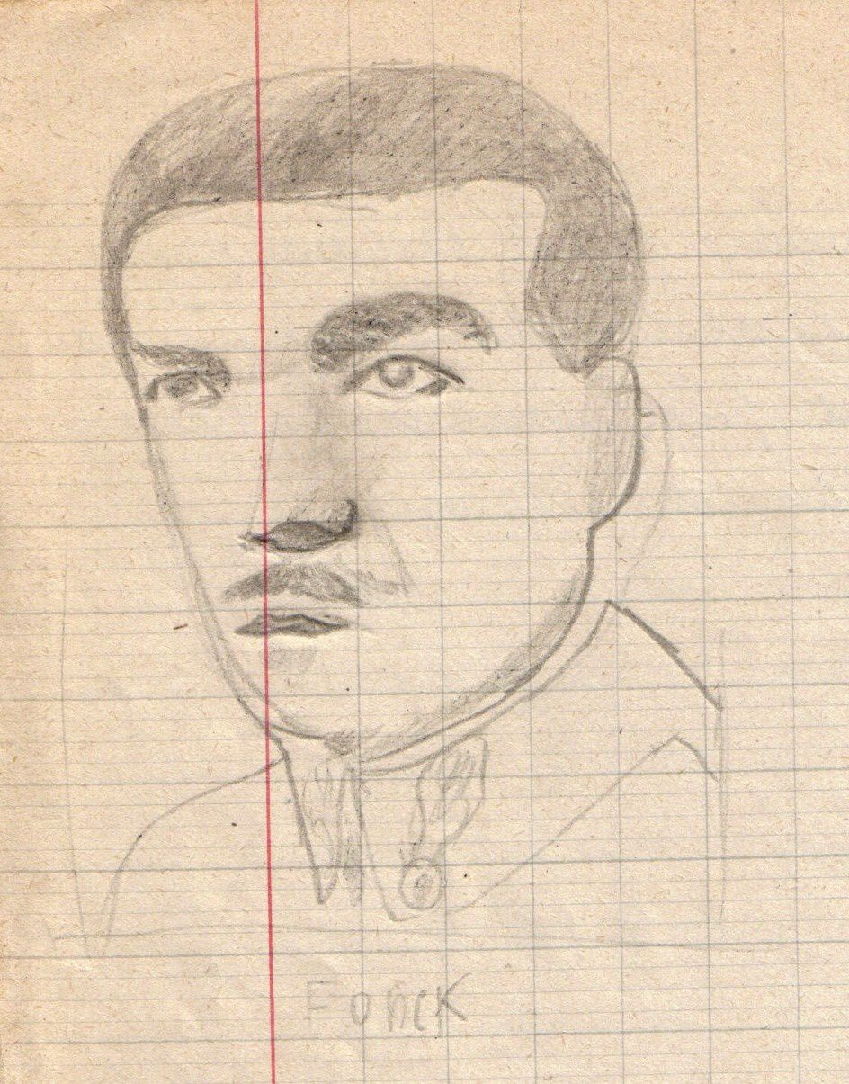 René Lamboley doué aussi en dessin ...
