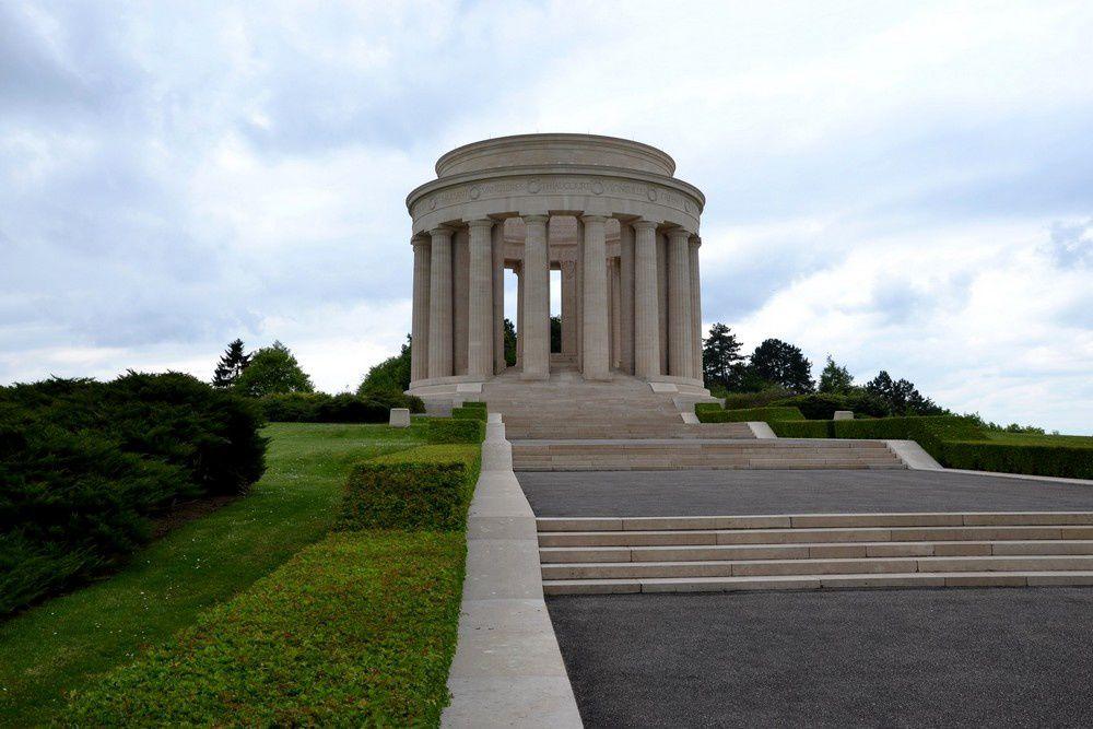 Le monument américain sur la Butte de Montsec dans la Meuse