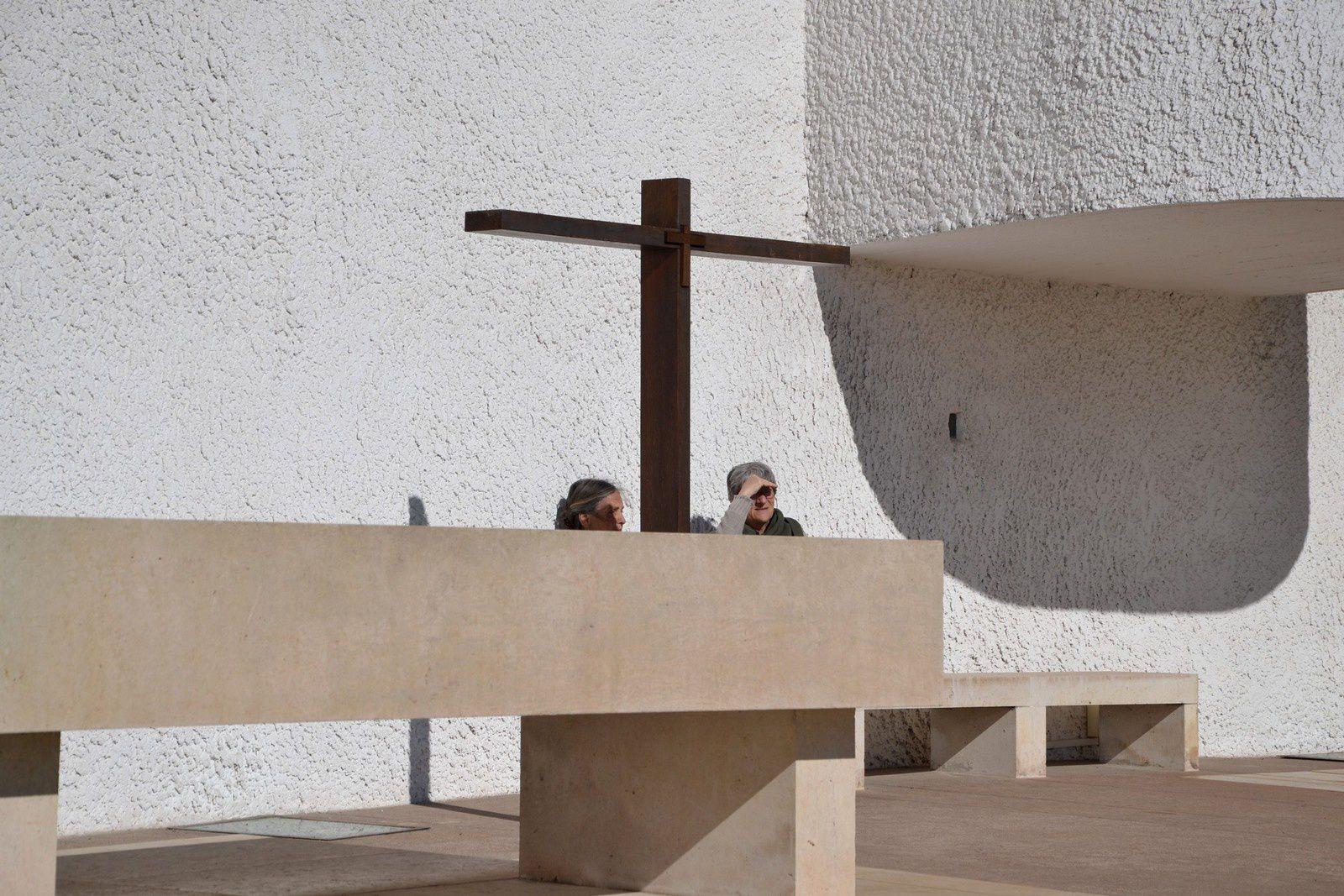 Chapelle Le Corbusier - plein soleil