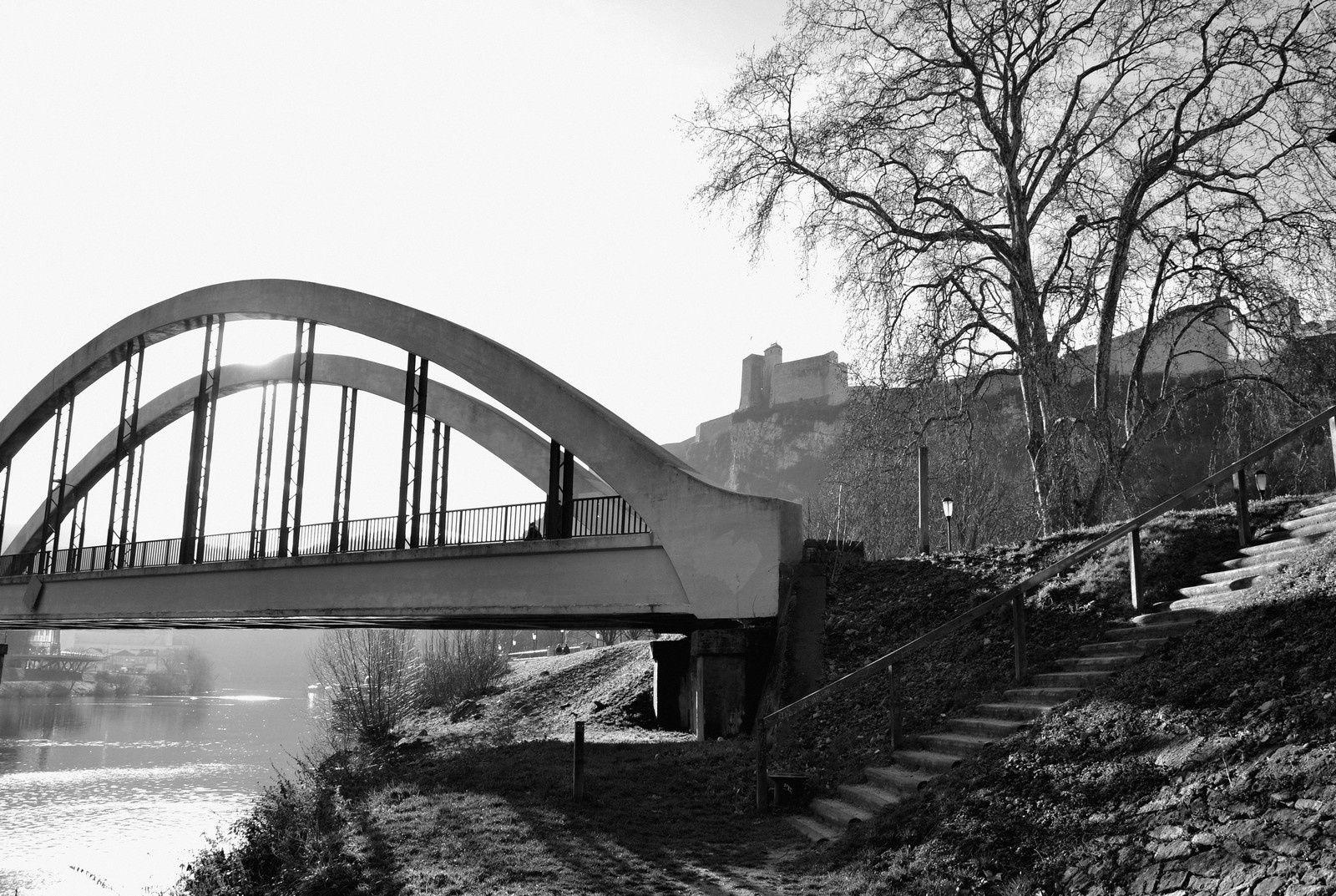 Besançon en noir et blanc