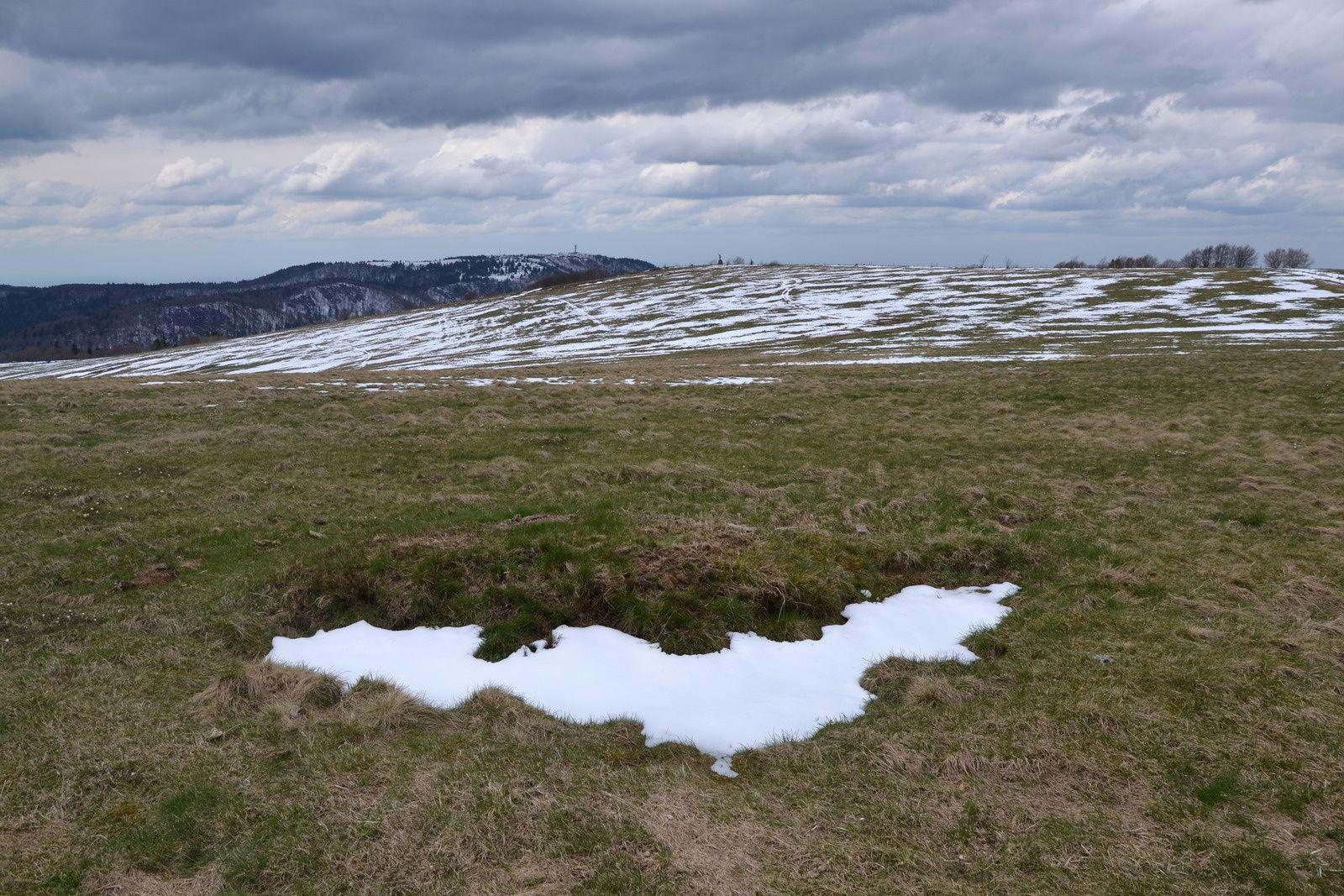 Au Ballon d'Alsace - entre hiver et printemps