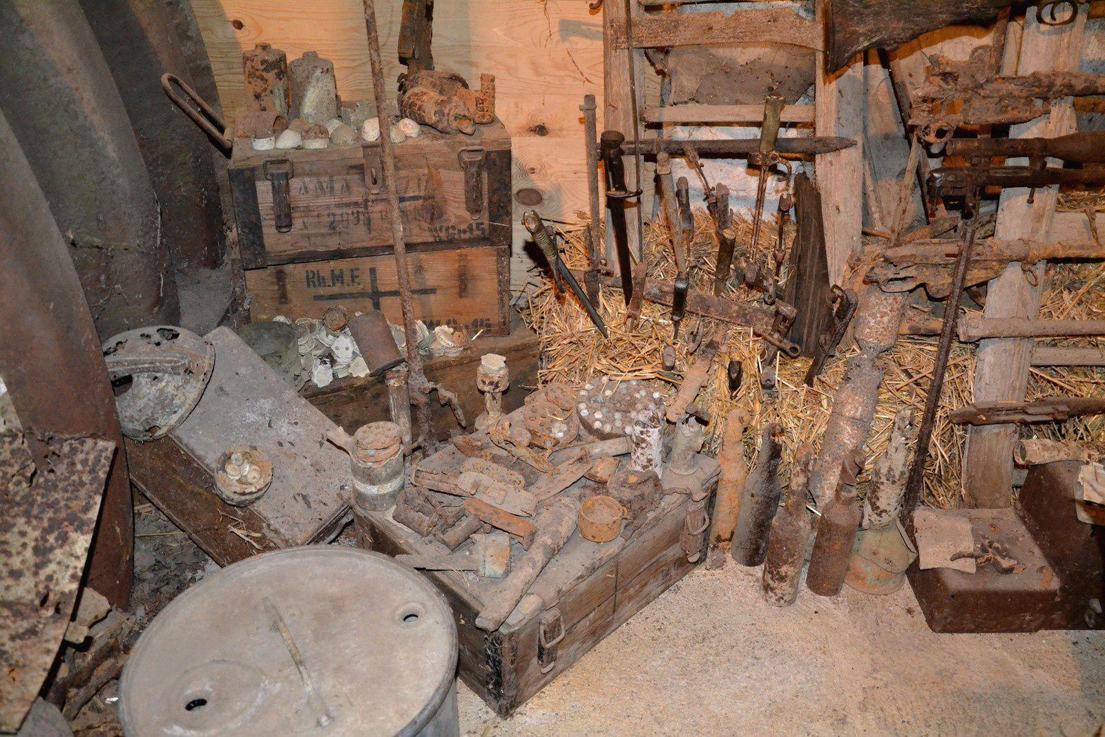 La grange-musée de Romagne-sous-Montfaucon