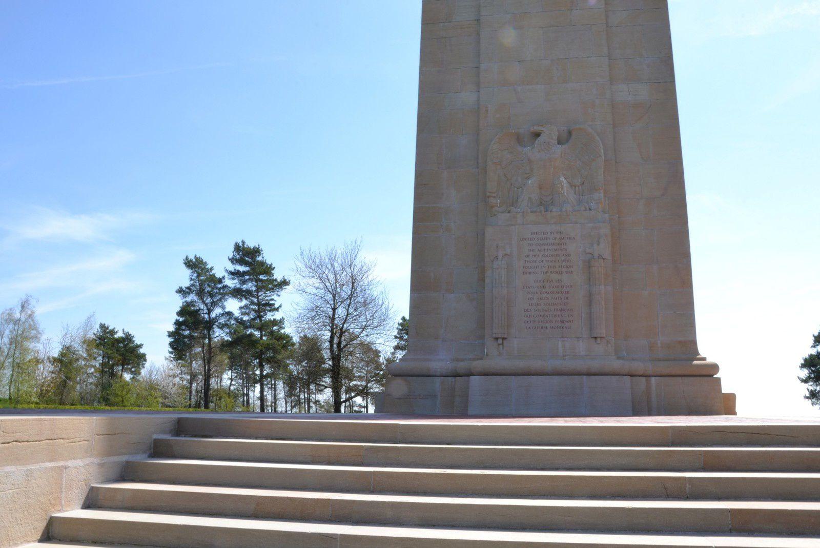 Le monument américain de Blanc-Mont (Marne)