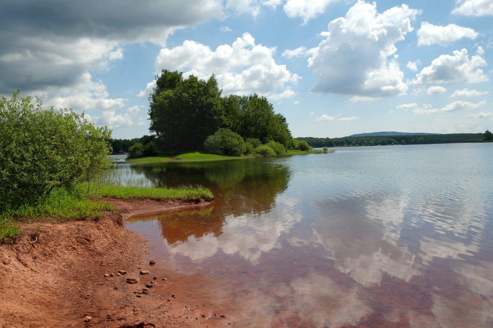 Le Bassin de Champagney en été