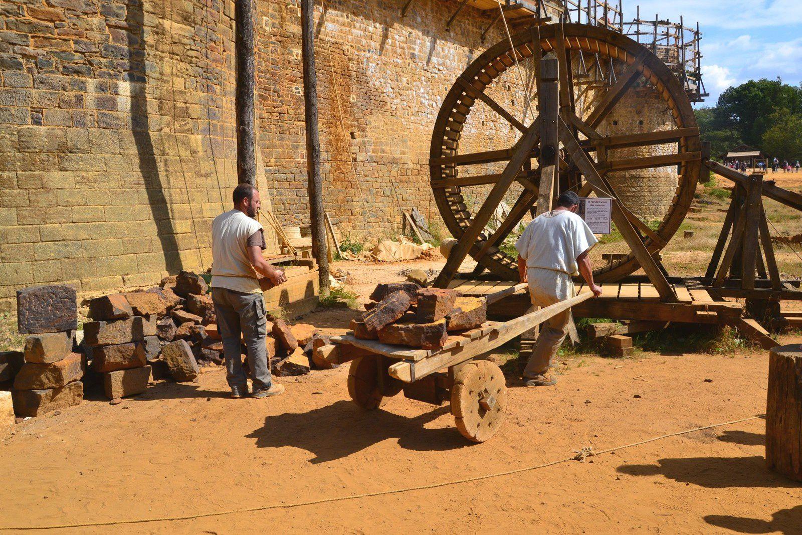 Le chantier médiéval de Guédelon - Yonne