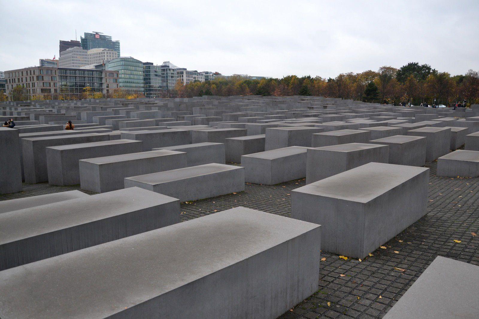 Berlin - le Mémorial de l'Holocauste