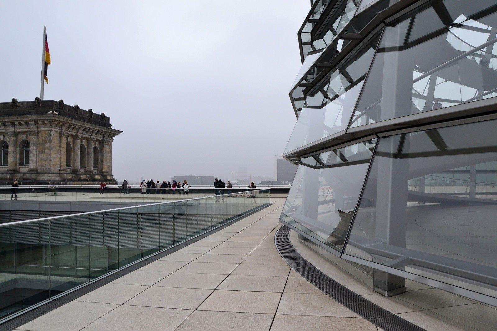 Berlin - Le dôme du Reichstag