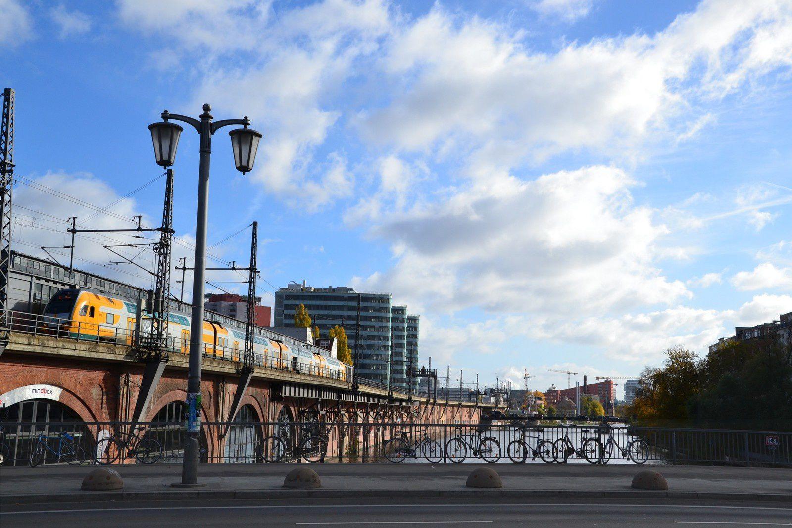 Berlin - Déambulation à l'Est - contrastes