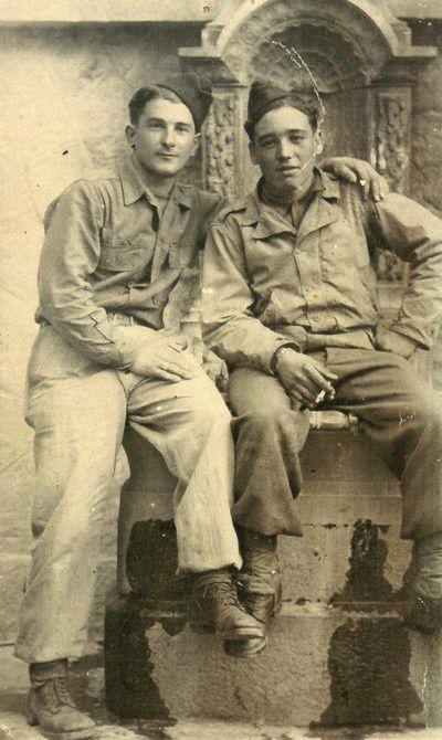 En 1945 à Lantosque (Alpes-Maritimes)