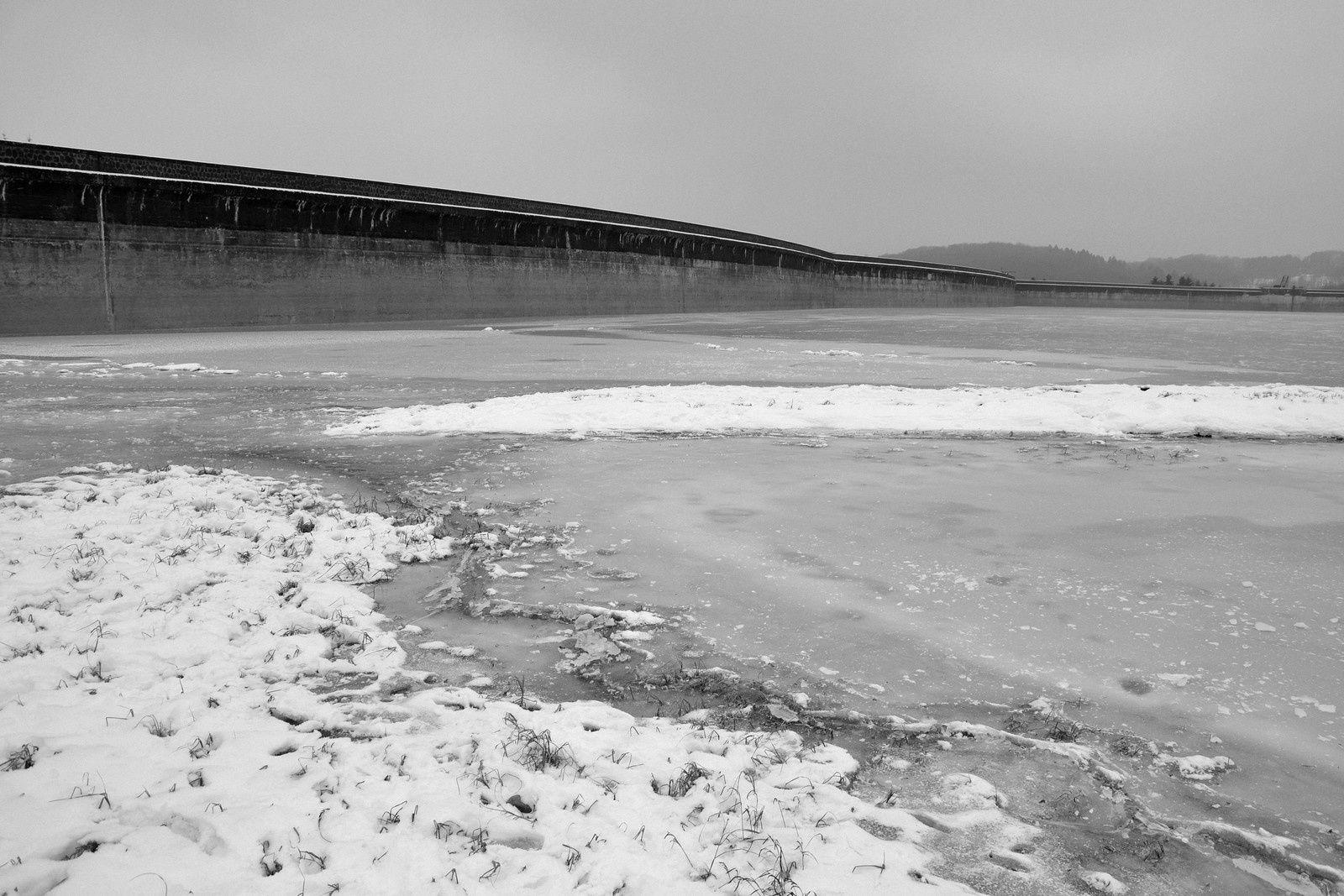 Autour du Bassin de Champagney - hiver