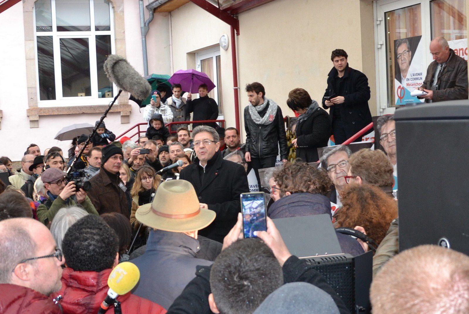 Jean-Luc Mélenchon - Champagney , 4 février 2017