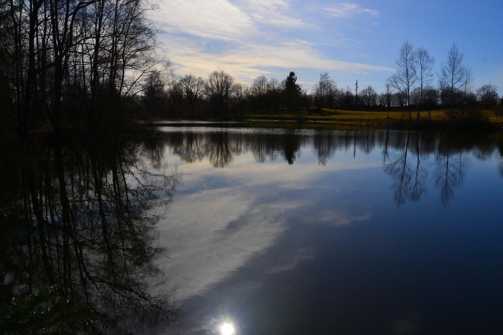Sur le Plateau des Grilloux - En attendant le printemps