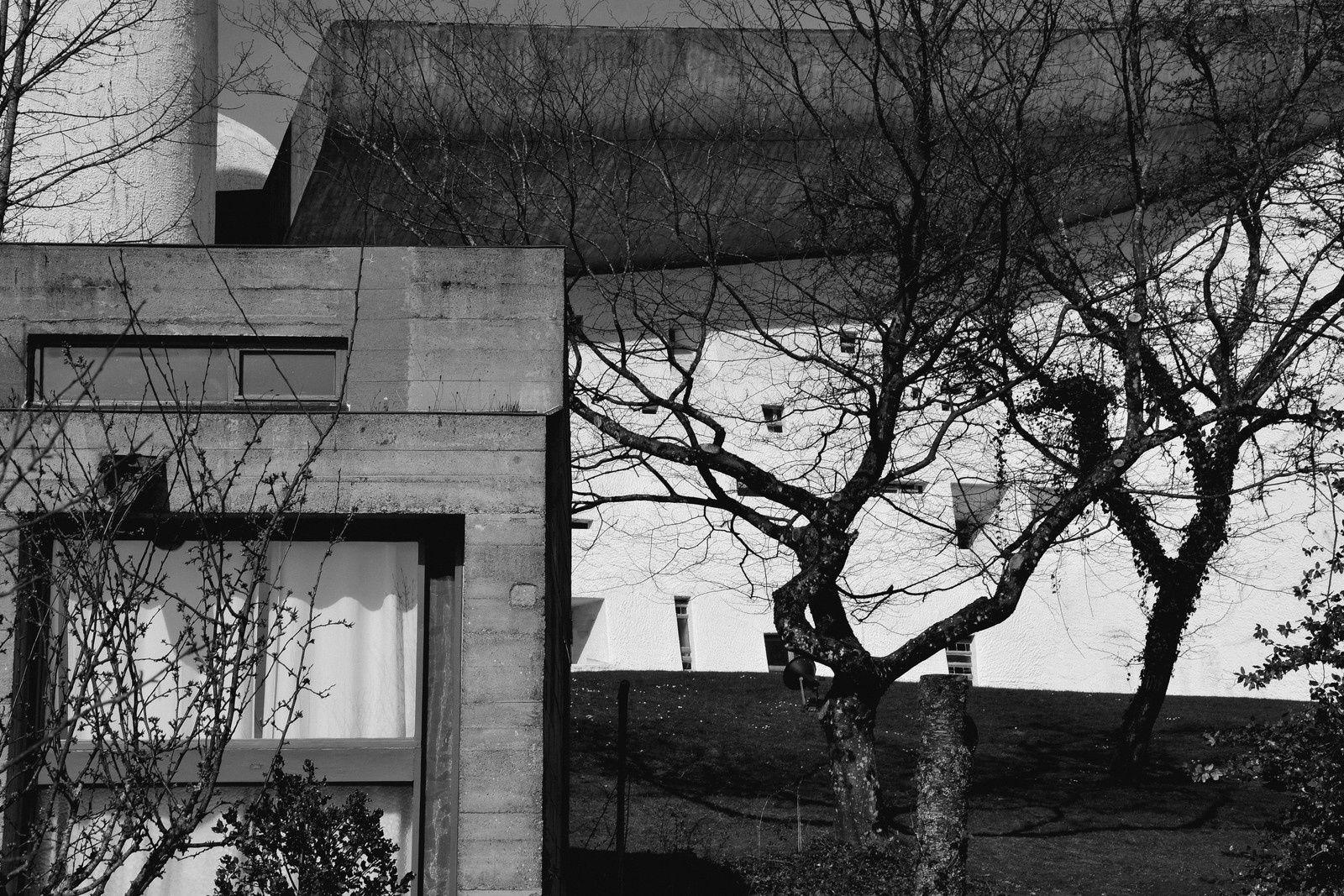 Ronchamp - soleil chez Le Corbusier