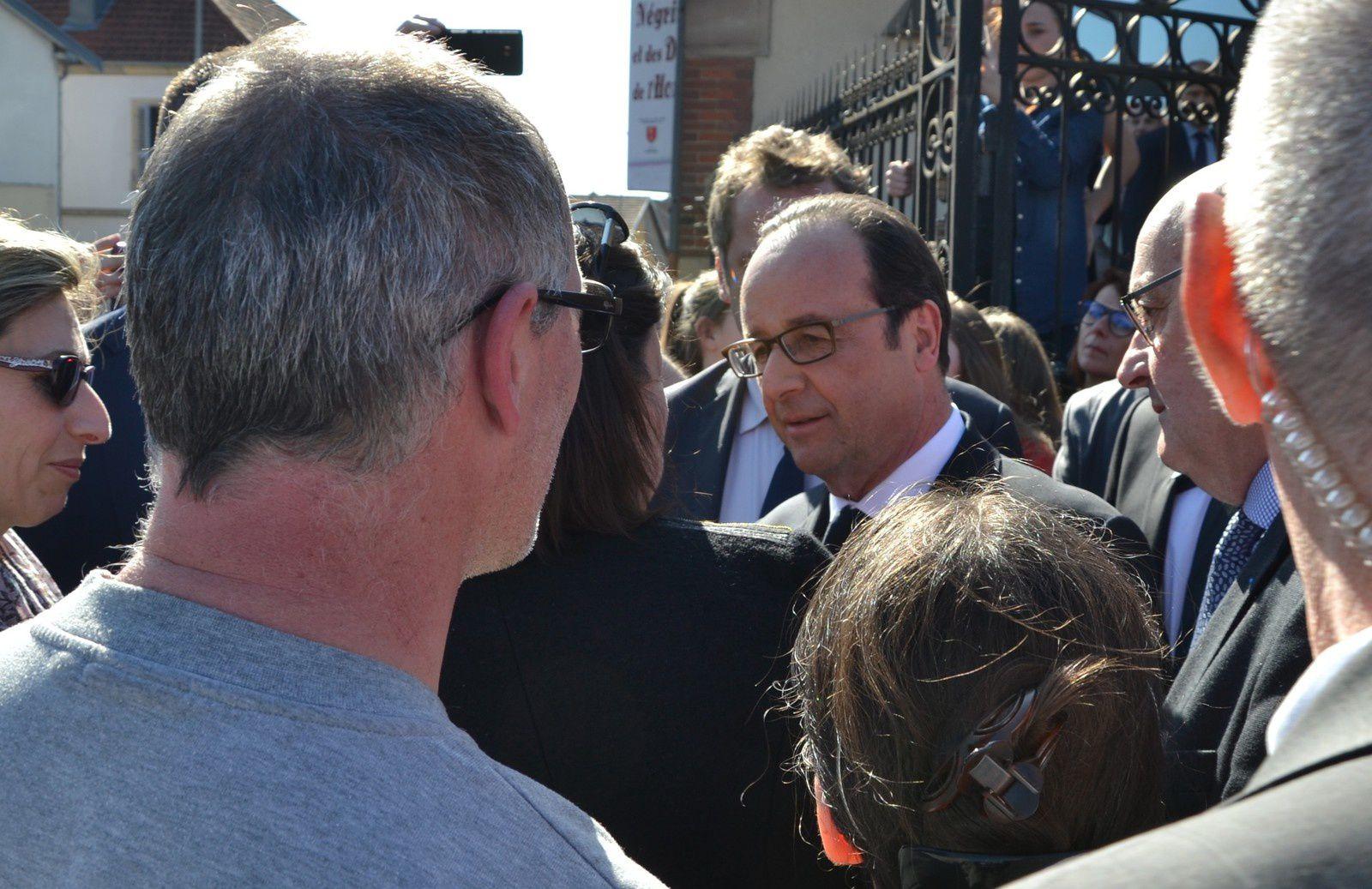 François Hollande à Champagney