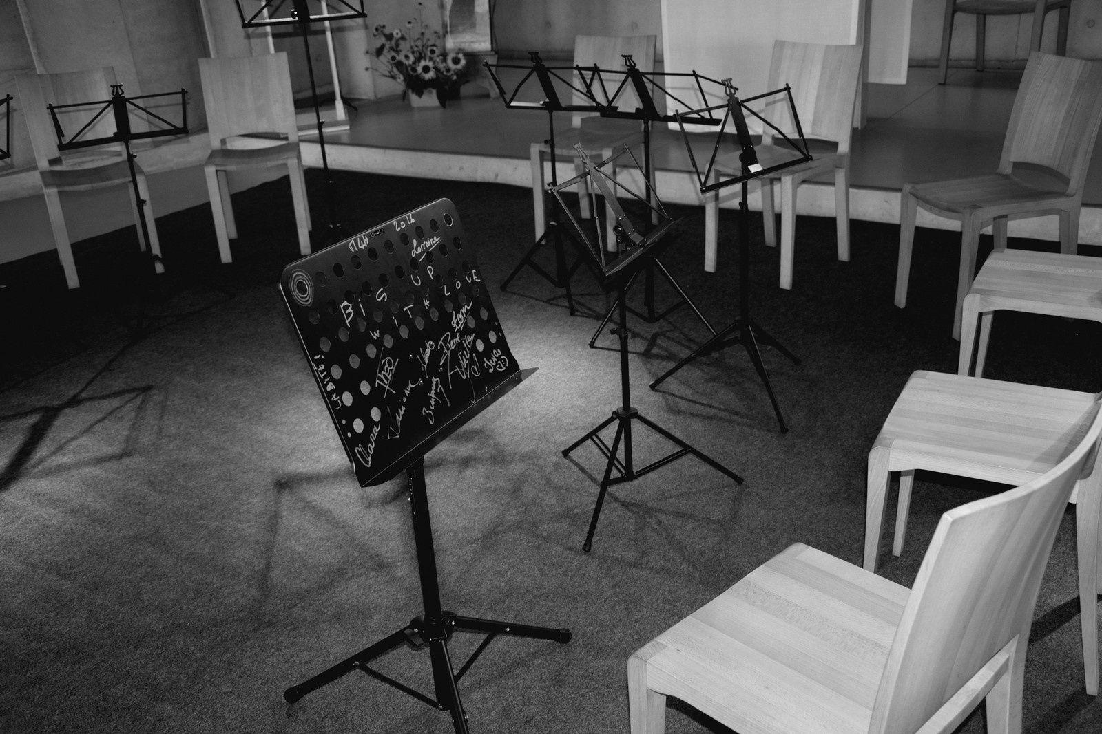 Ronchamp - A l'oratoire du couvent Renzo Piano