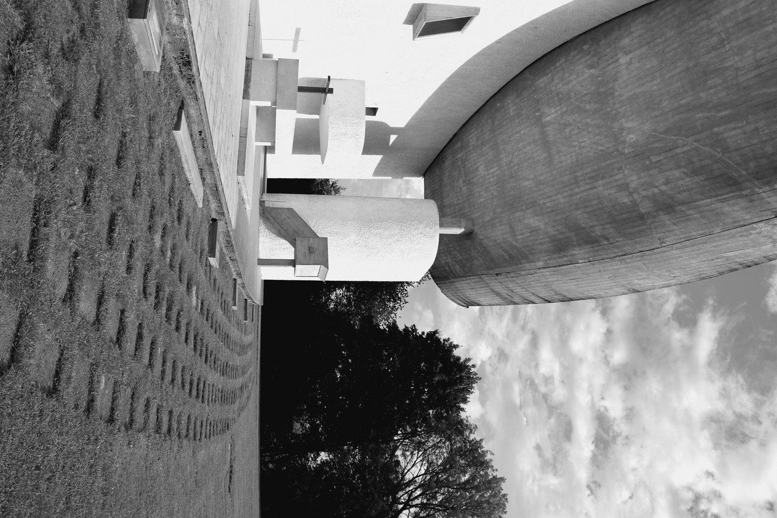 Le Corbusier à Ronchamp - Notre-Dame du Haut