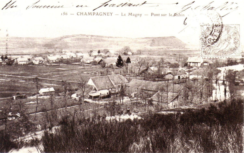 Histoire de ponts - Champagney