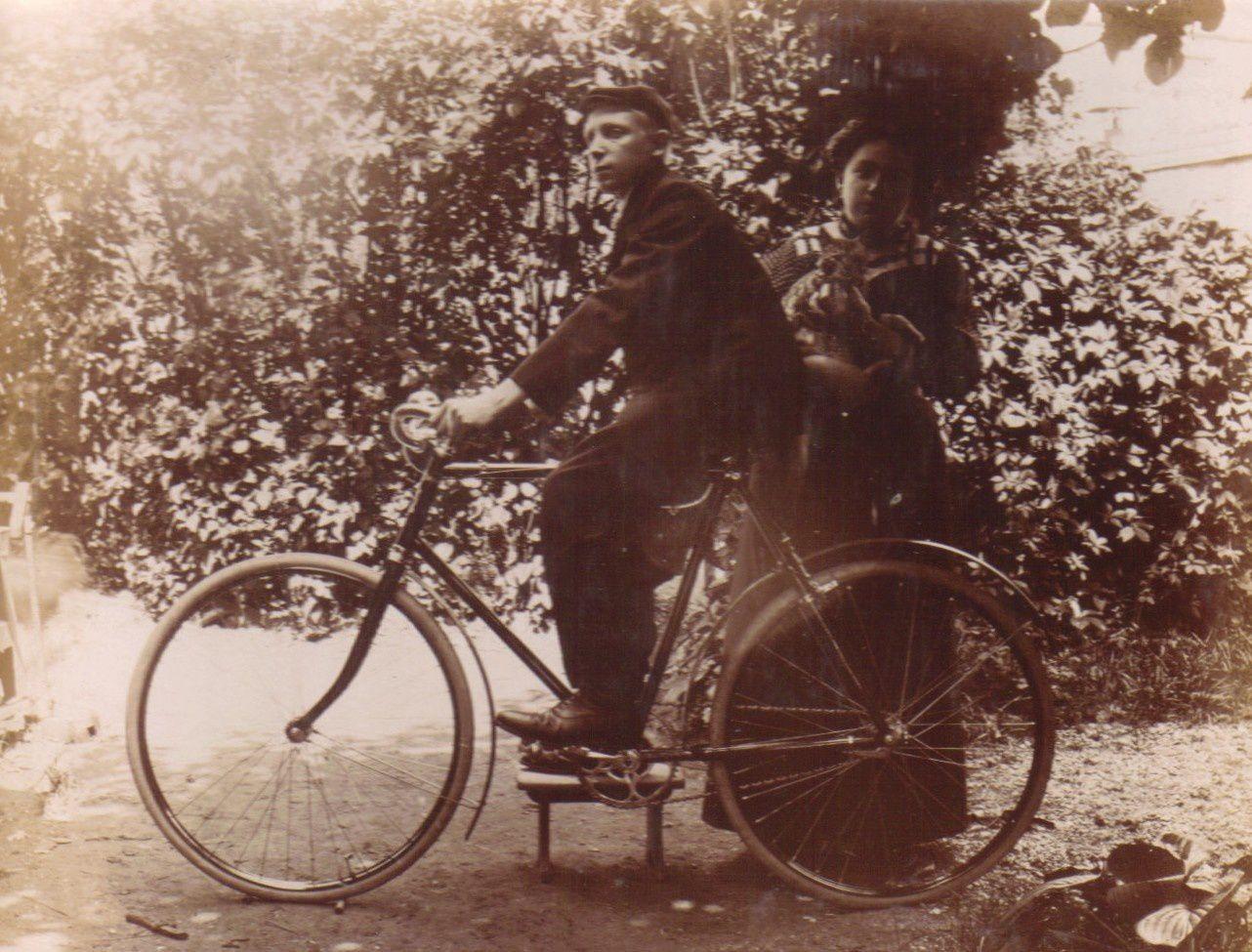 Albert Mozert et Marie Lejeune en 1910